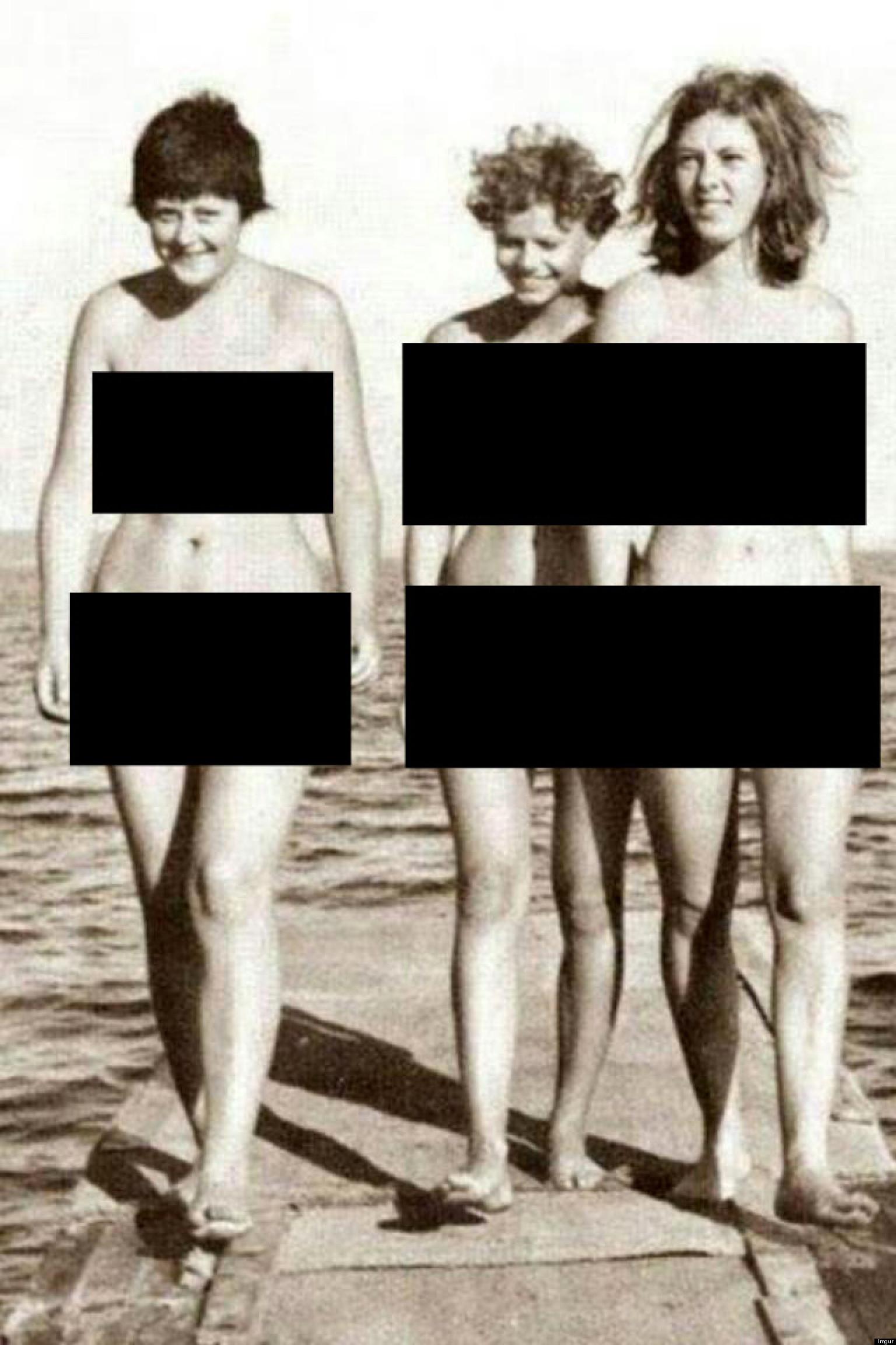 Angela Merkel Naked? April Fool Or Does Snap Show German