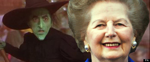 MARGARET THATCHER DING DONG THE WITCH IS DEAD