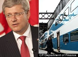 Harper Blue Go Train