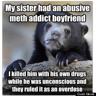 redditor confession bear murder