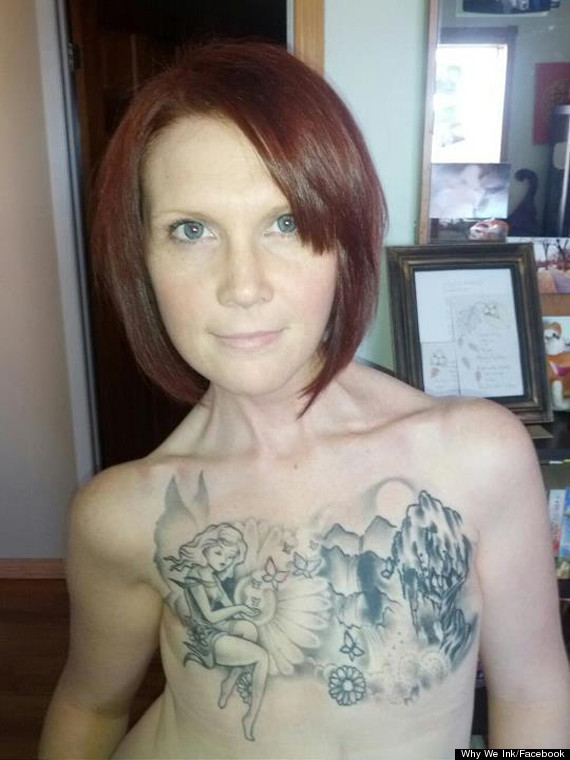 Kelly Davidson says her tattoo 'symbolises her transformation' after ...