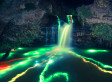 Neon Waterfalls: Long-Exposure Photo Series Captures Striking Glow Sticks Images (PHOTOS)