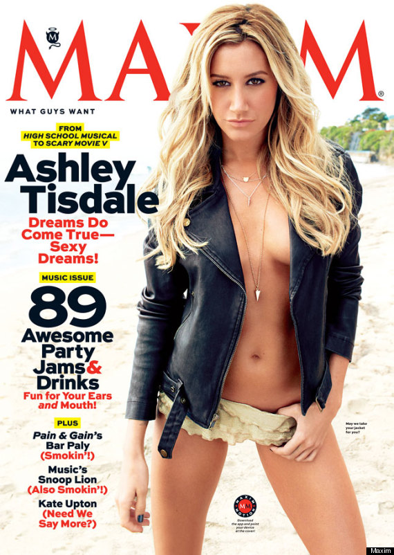 ashley tisdale topless