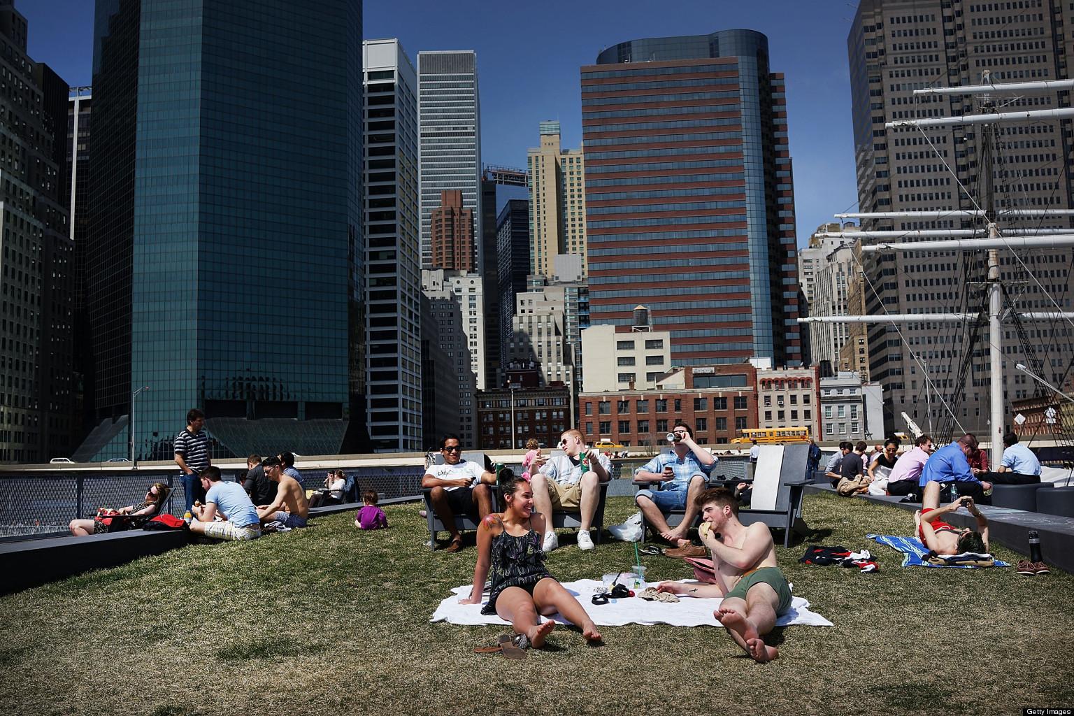 New york city weather next week