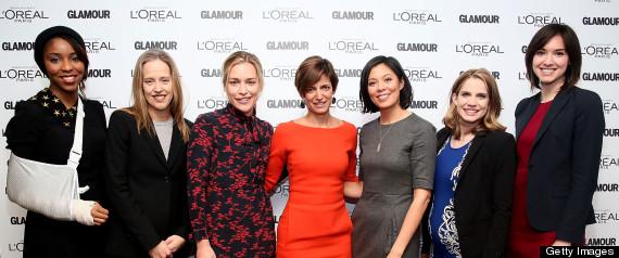 GLAMOUR TOP 10 WOMEN