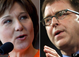 B.C. Premier Blamed For TV Debate Flop