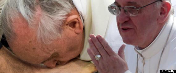 KISSING POPE FRANCIS