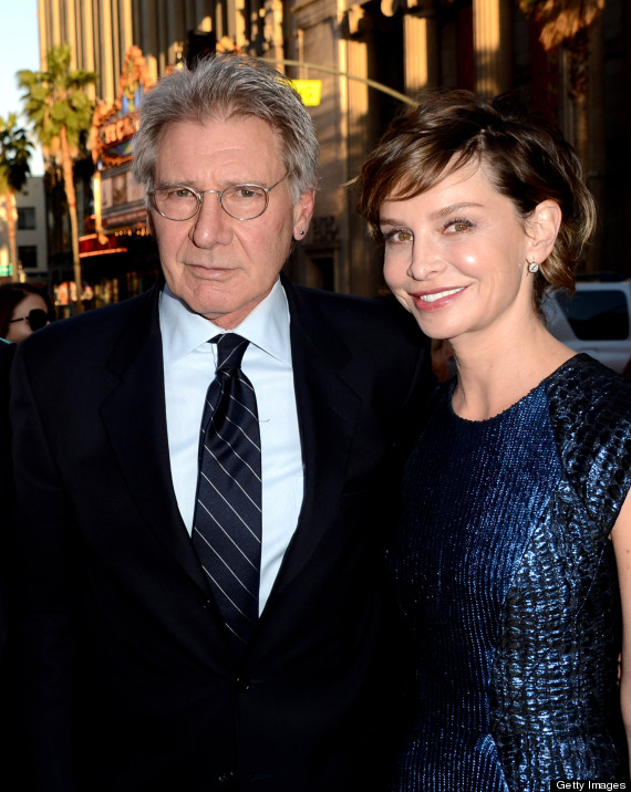 Harrison Ford, Calista Flockhart Shine At The Premiere Of ...
