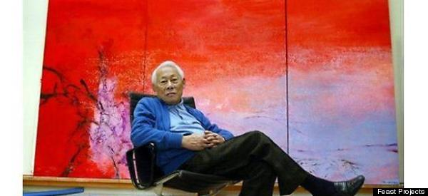 Zao wou ki dead china 39 s highest selling living artist for Best way to sell paintings