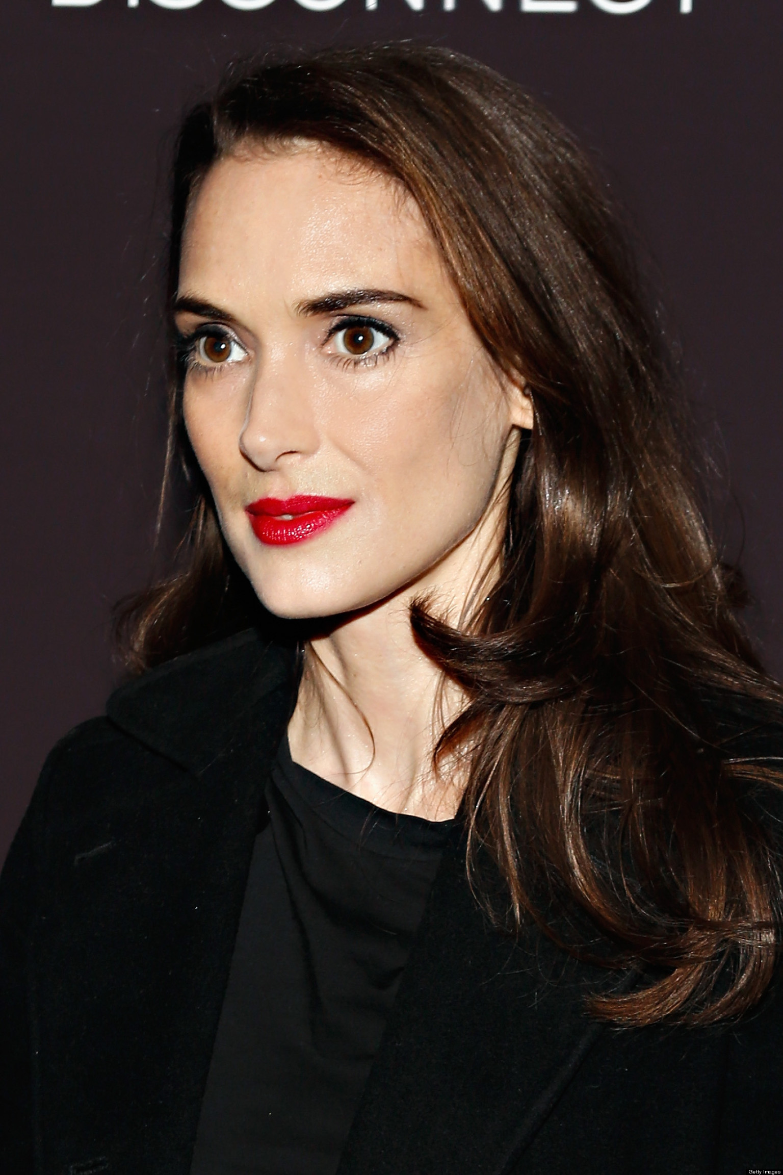Winona Ryder Makes Red...