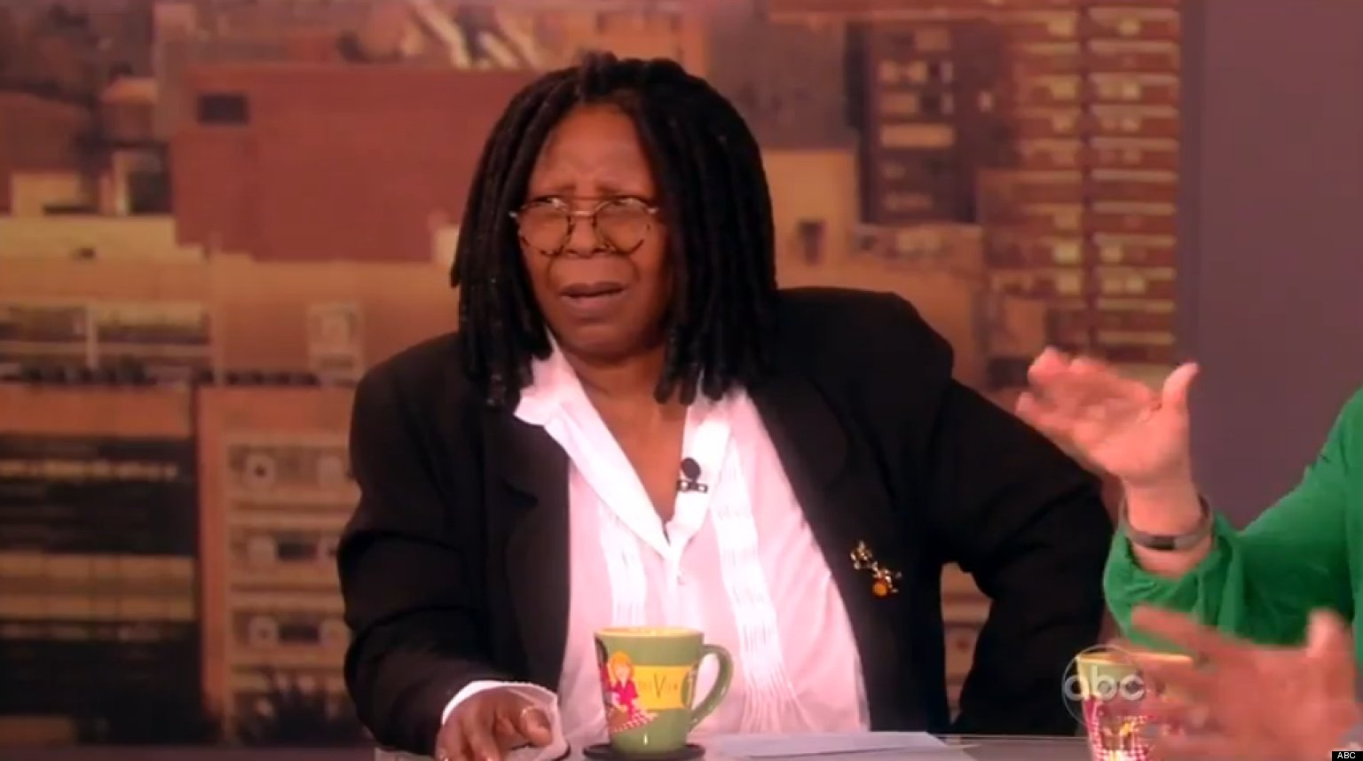 Whoopi Goldberg With Eyebrows Whoopi Goldberg s Reaction To