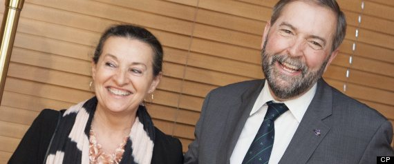 Thomas Mulcair Wife Family
