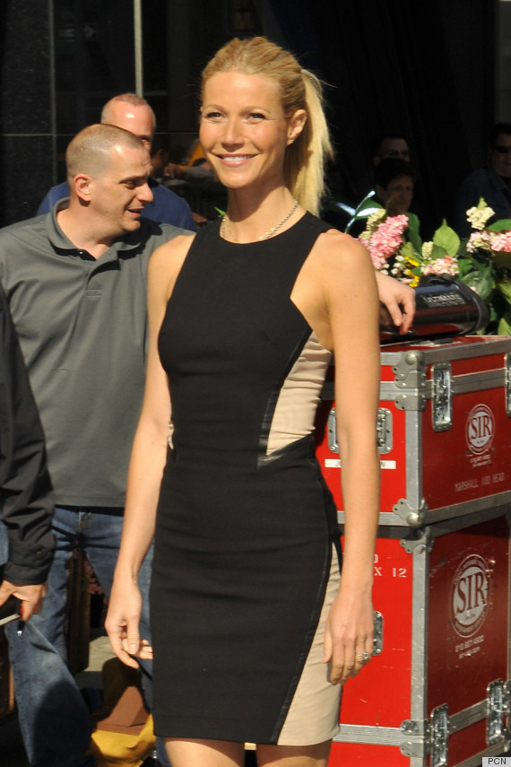 gwyneth paltrow illusion dress
