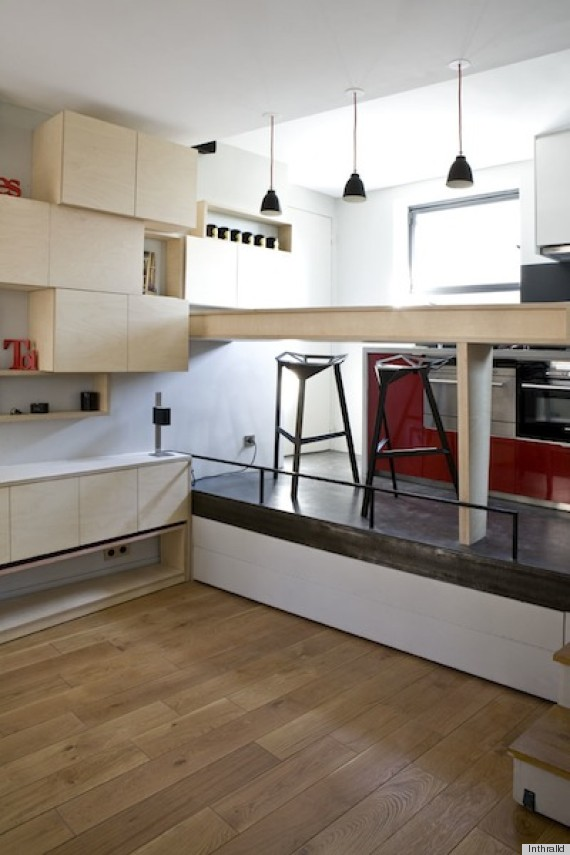 A Small Paris Apartment That Could Fit In Your Dorm Room