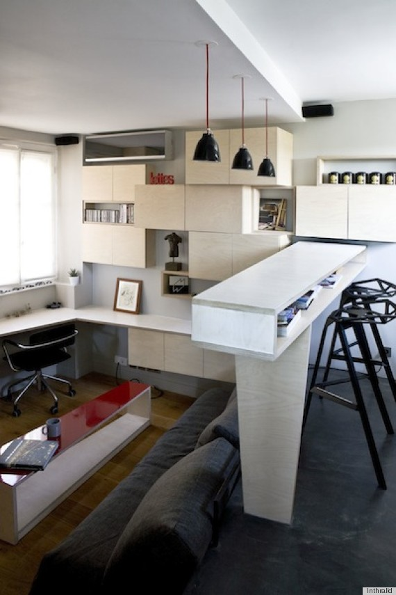 small paris apartment