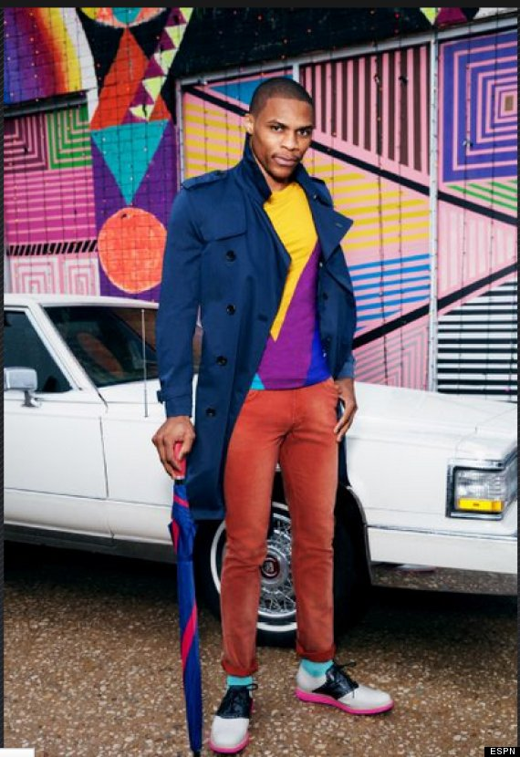 Russell Westbrook Covers Espn Magazine Asks Mom For Style