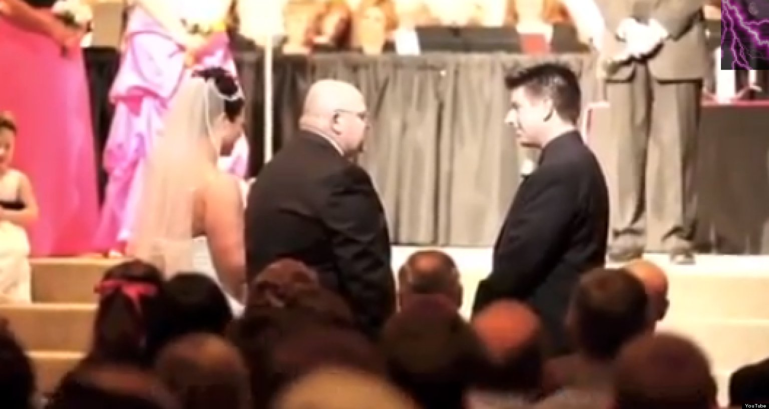 Wedding Sch Father Of The Bride Delivers Heartfelt Hilarious