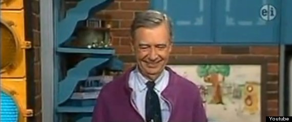 Mr Rogers Sweet Gesture For Blind Girl