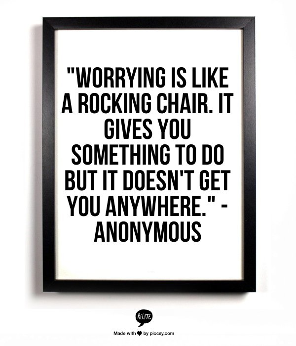 law of attraction how to stop worrying about money