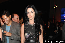 Katy Perry Parties With January Jones, Mena Suvari & Milla Jovovich At Coach Cocktail Party