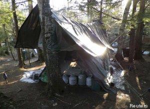 campamento ermitaño