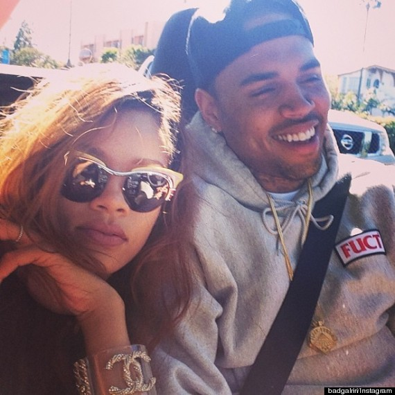rihanna chris brown together