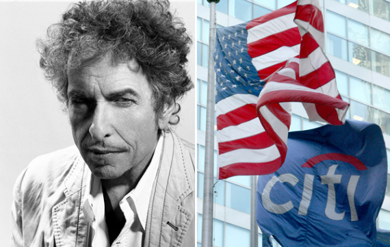 Citigroup Bob Dylan