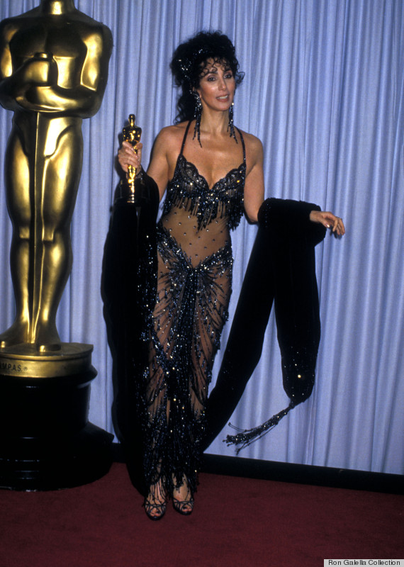 cher 1988 oscar dress