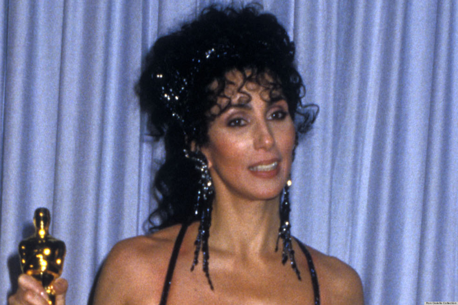 PHOTO: Cher's 1988 Oscar Dress Was A Landmark Sheer Fashion Moment