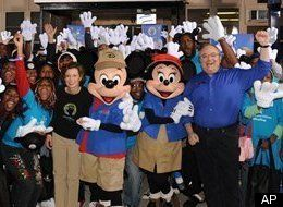 Disney Rewards Volunteers