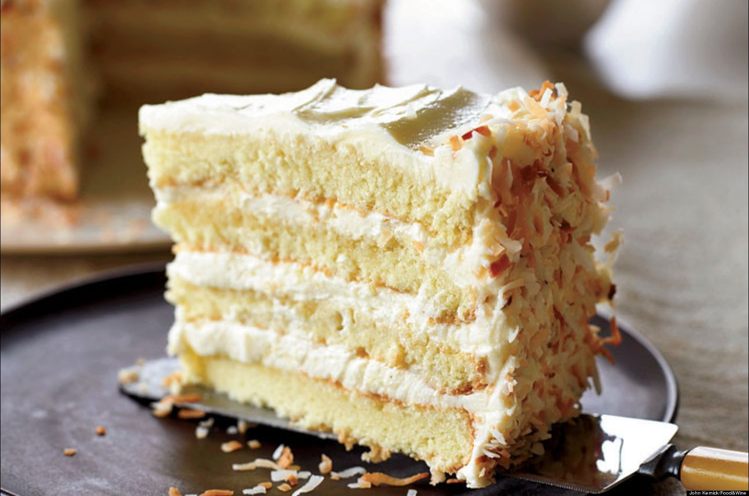 Recipe Of The Day: Coconut Cake