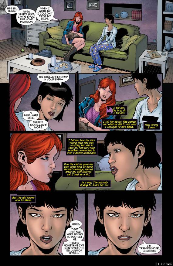 dc comics transgender batgirl