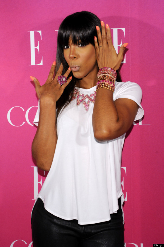 kelly rowland without makeup