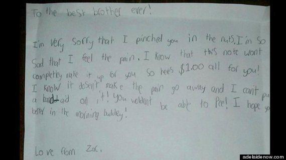 zac apology note