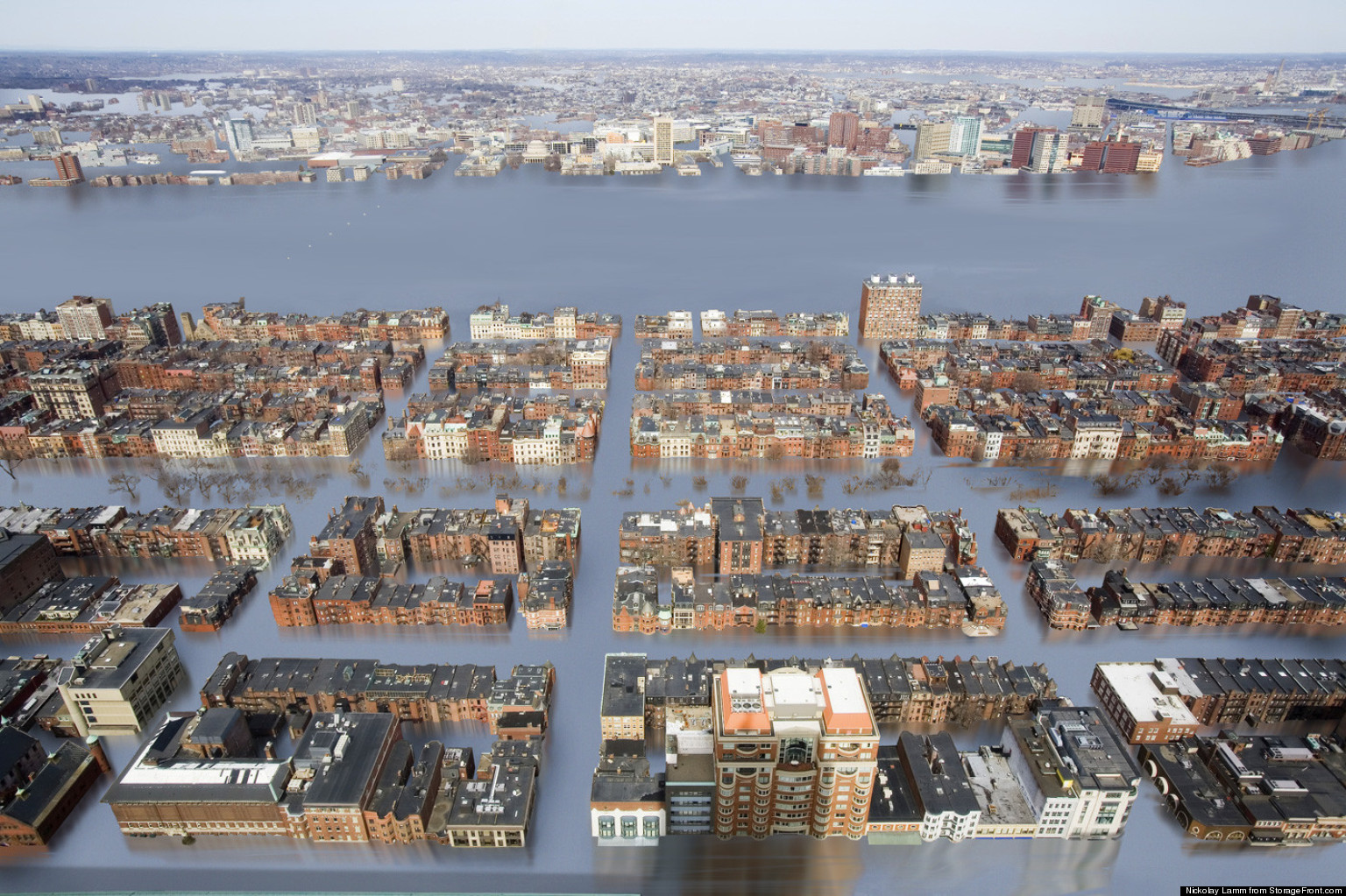 Artist Shows What U.S. Cities Will Look Like If Sea Levels Rise