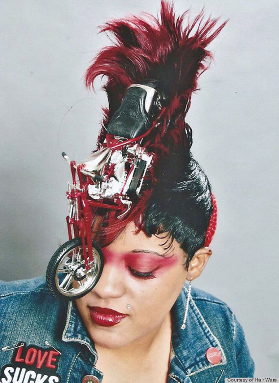 Hair Wars Showcases Wild Hairstyles For Detroit Show (PHOTOS)   HuffPost