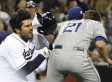 Dodgers, Padres Brawl: Zack Greinke Hits Carlos Quentin Who Then Charges The Mound (VIDEO)