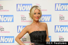Drab To Fab: Denise Van Outen Swaps Street Style For Ball Gown