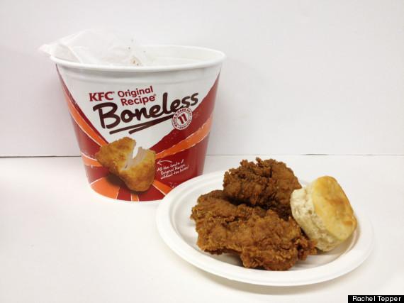 kfc boneless chicken