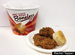 Taste Test: KFC's Original Recipe Boneless Chicken