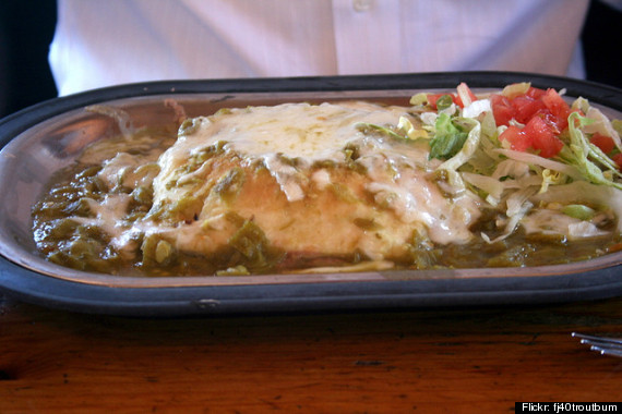 green chile sopapilla