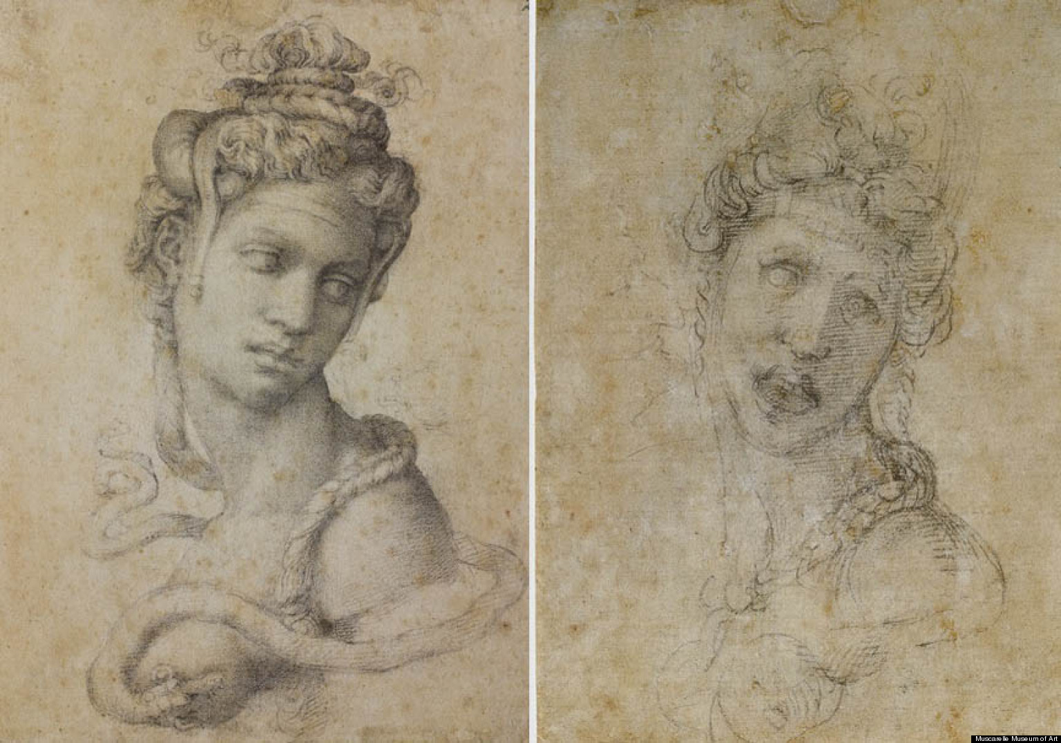 Michelangelo images - Michelangelo S Drawing Of Cleopatra May Be The Work Of His Student Photos Huffpost