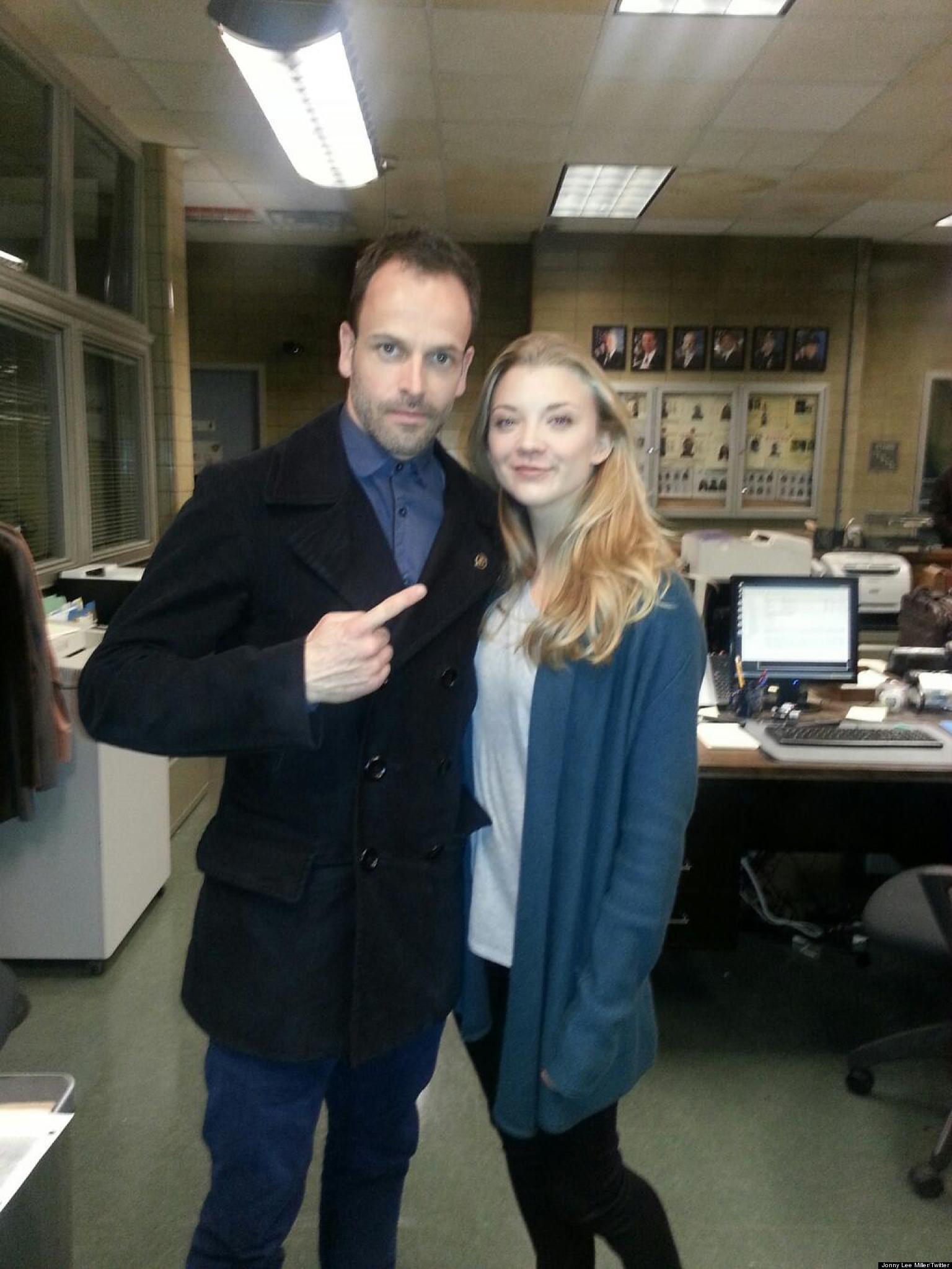 Natalie Dormer On The 'Elementary' Set With Jonny Lee ...