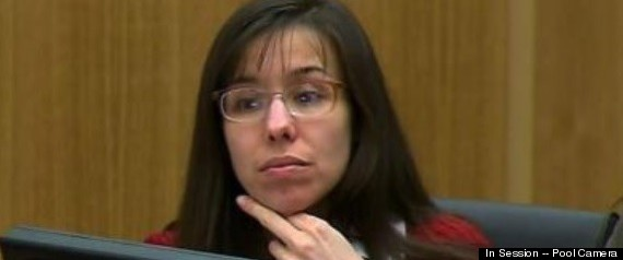 Jodi Arias Middle Finger: Contempt For Nancy Grace?