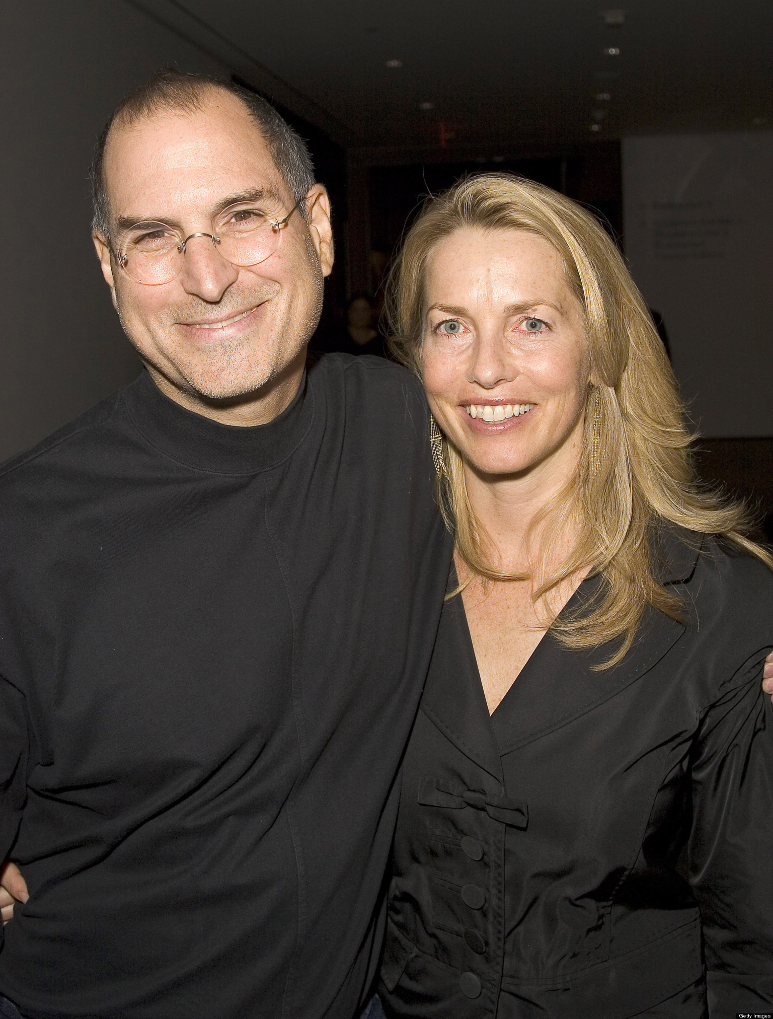 laurene powell jobs  steve jobs u0026 39  wife  gives first