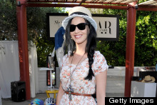 Katy Perry Wears Florals At Coachella 2013