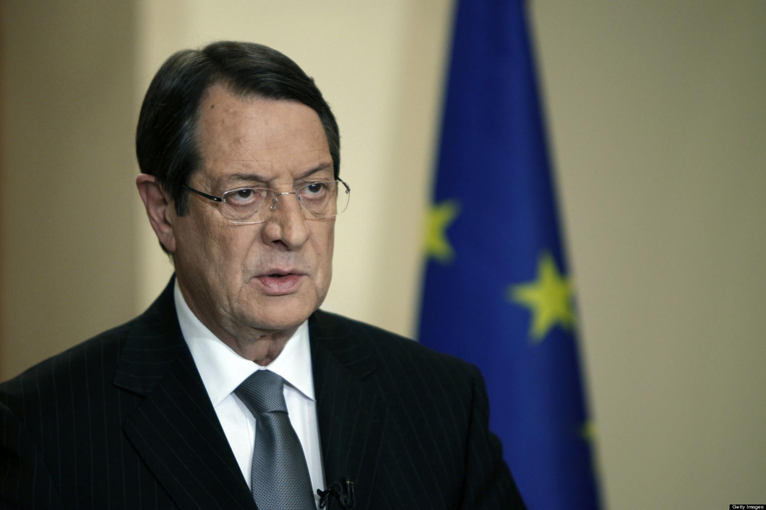Президент Кипра по-джентльменски ушел от ответа на вопрос