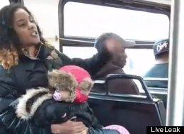 WATCH: Mom Chucks Baby Aside For Brawl On Bus