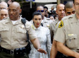 Kim Kardashian Escorted Out Of Court By 10 Sheriffs After Kris Humphries Is A No Show (PHOTOS)