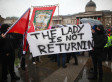 Margaret Thatcher Trafalgar Square Death Party Attended By Hundreds (PICTURES)